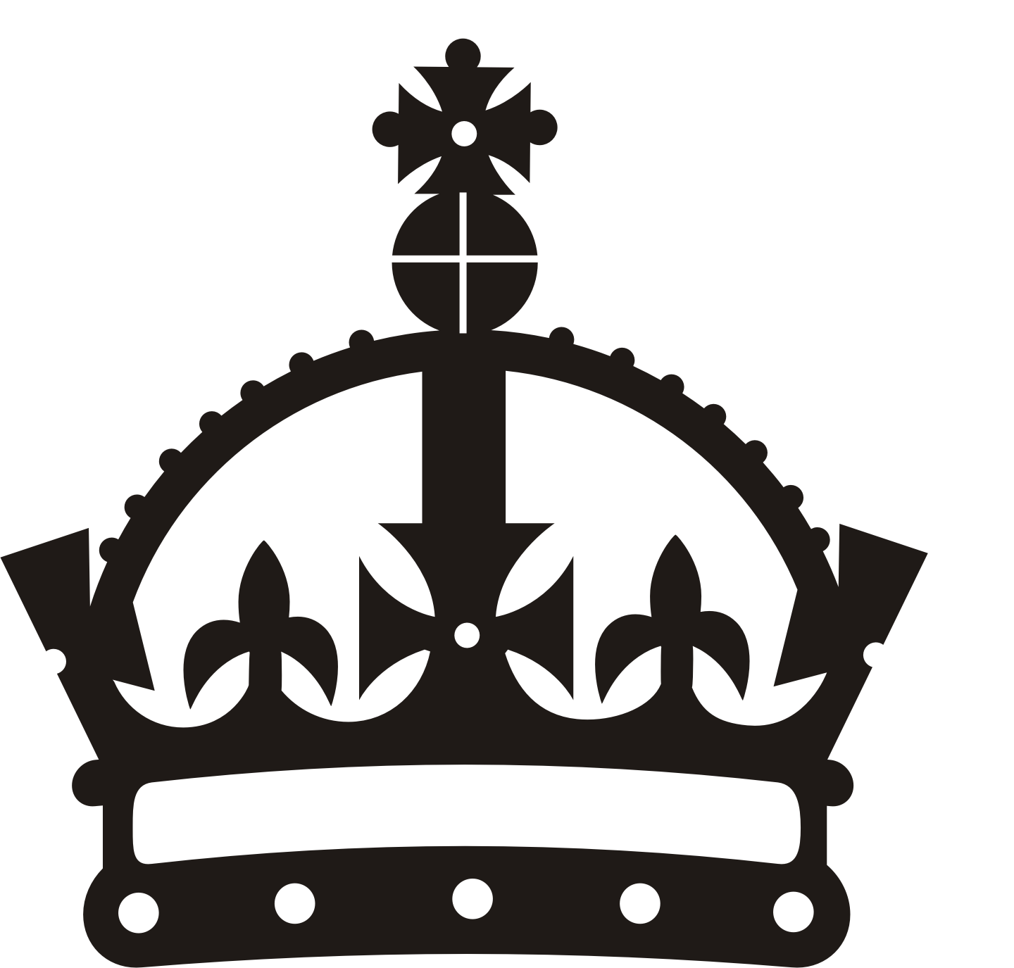 crown clipart vector free - photo #36