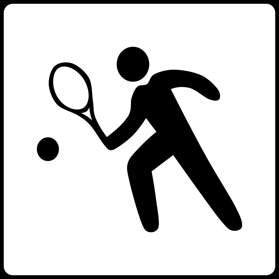 Tennis Clip Art Tennis Court | Clipart Panda - Free Clipart Images