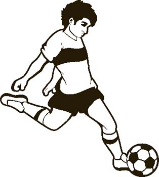 Engraving Creations - Clipart - Soccer
