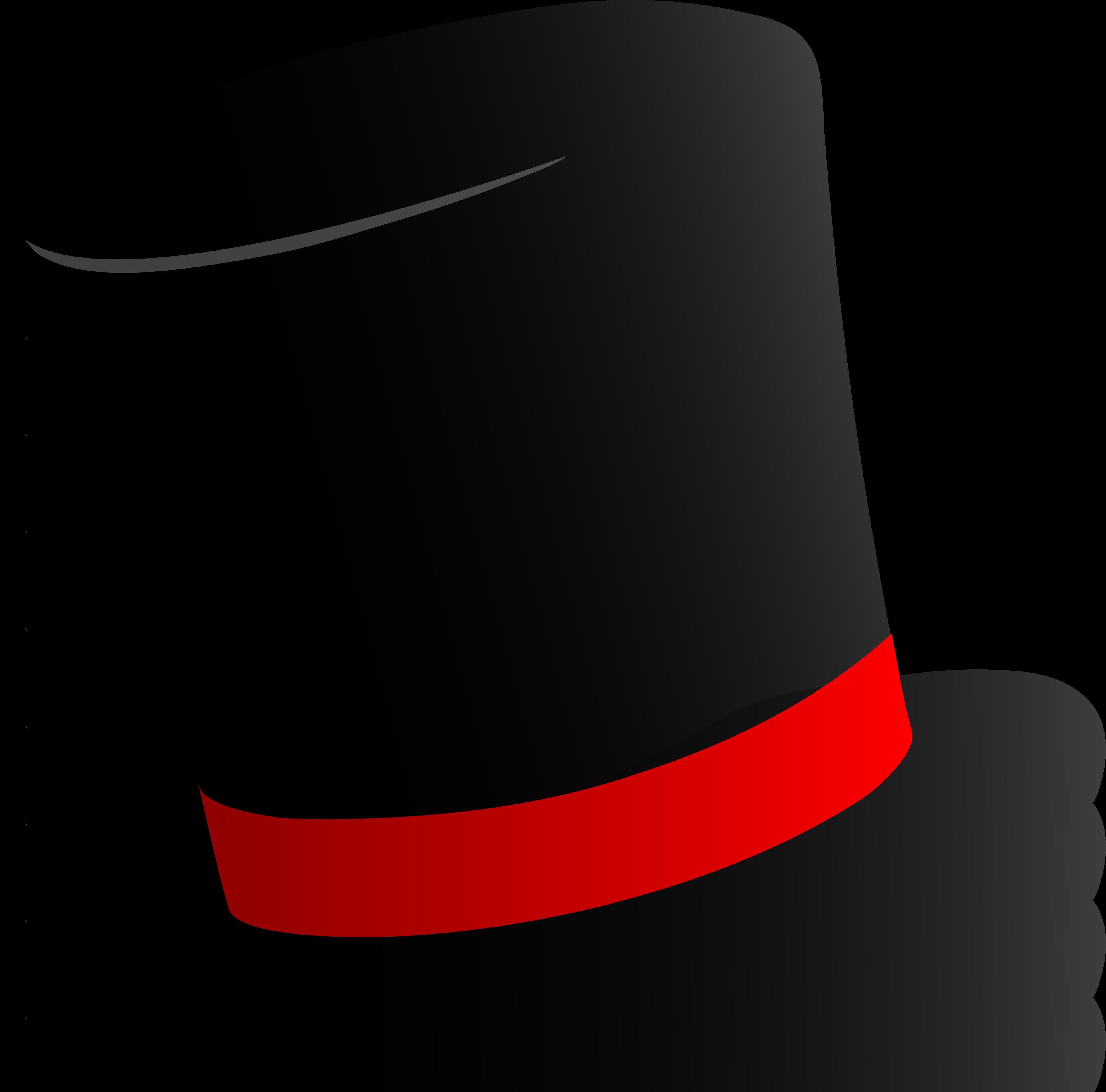 dbe4913403d21 Black Top Hat Design - Free Clip Art