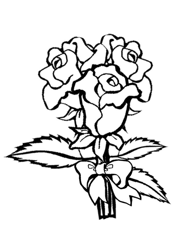 Cartoon Pictures Of Roses Clipartsco