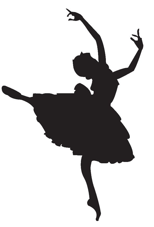 clip art girl silhouette - photo #18