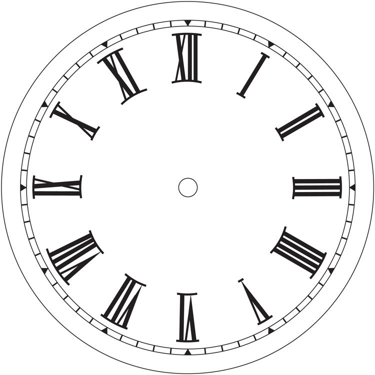 Line Drawing Clock Face : Clock images free cliparts