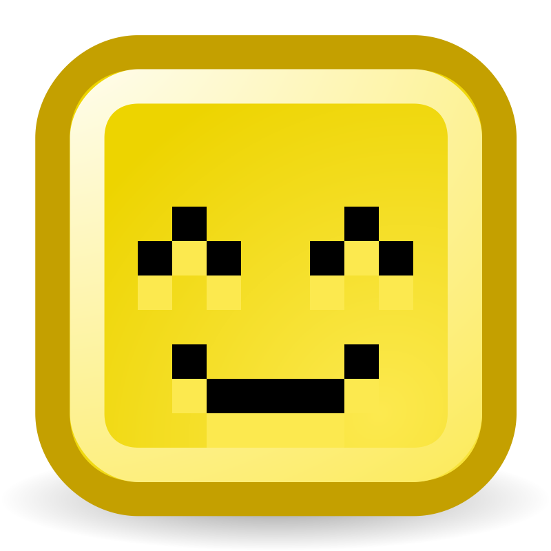 Clipart - Smiling eyes, smiling face