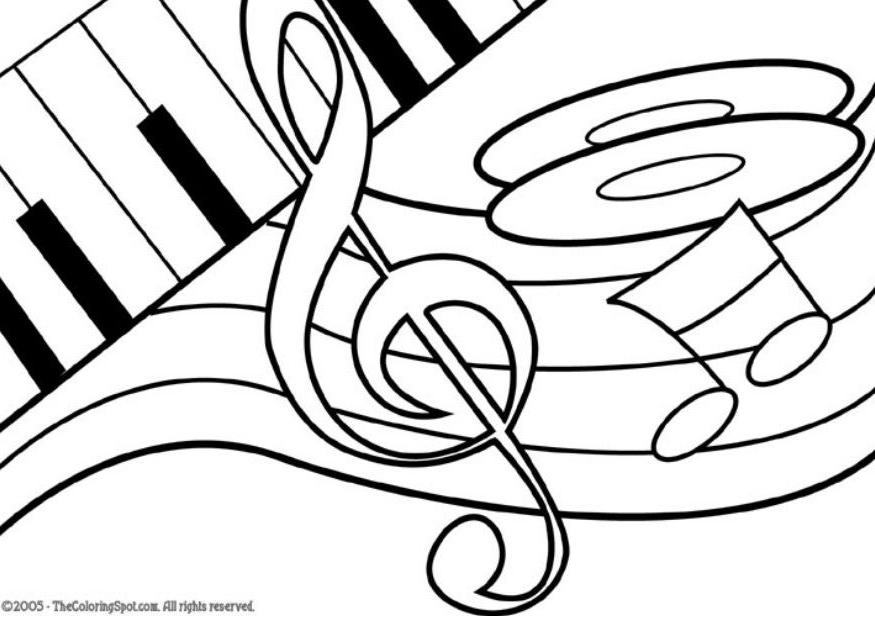 Pictures Of Treble Clef Cliparts Co Treble Clef Coloring Page
