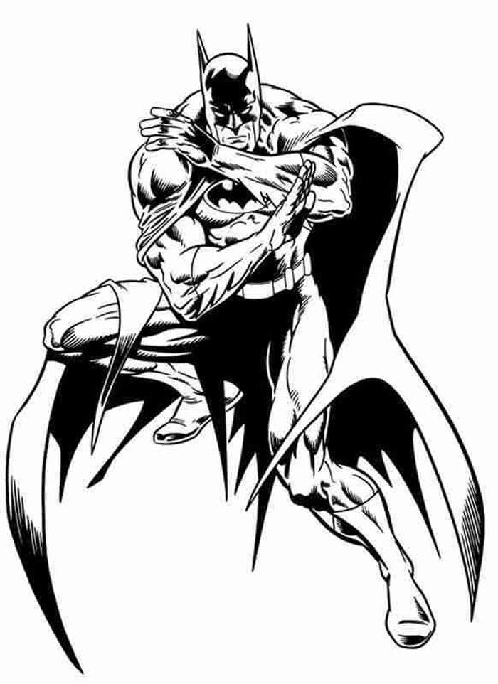 Batman Symbol Coloring Pages - Cliparts.co