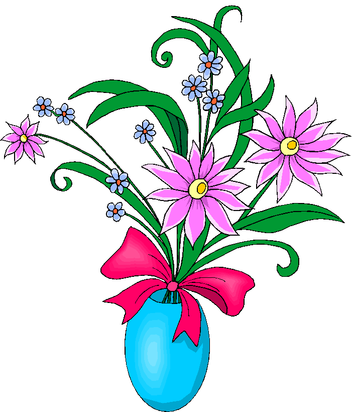 Free Clipart Flowers Vase