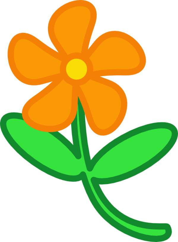 Flower clip art for kids | Free Reference Images