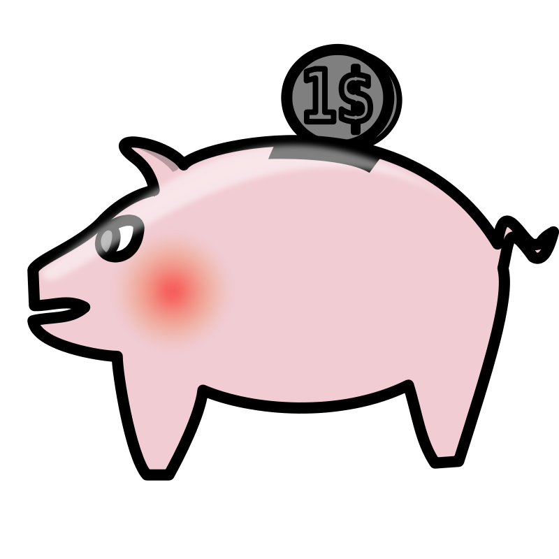 Piggy Bank Money Clipart Pictures | Clipart Pictures Org