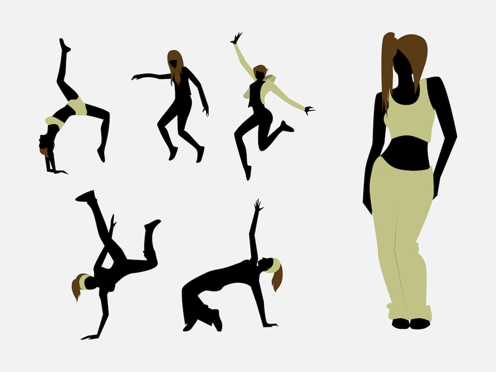 Hip Hop Dance Party Clip Art