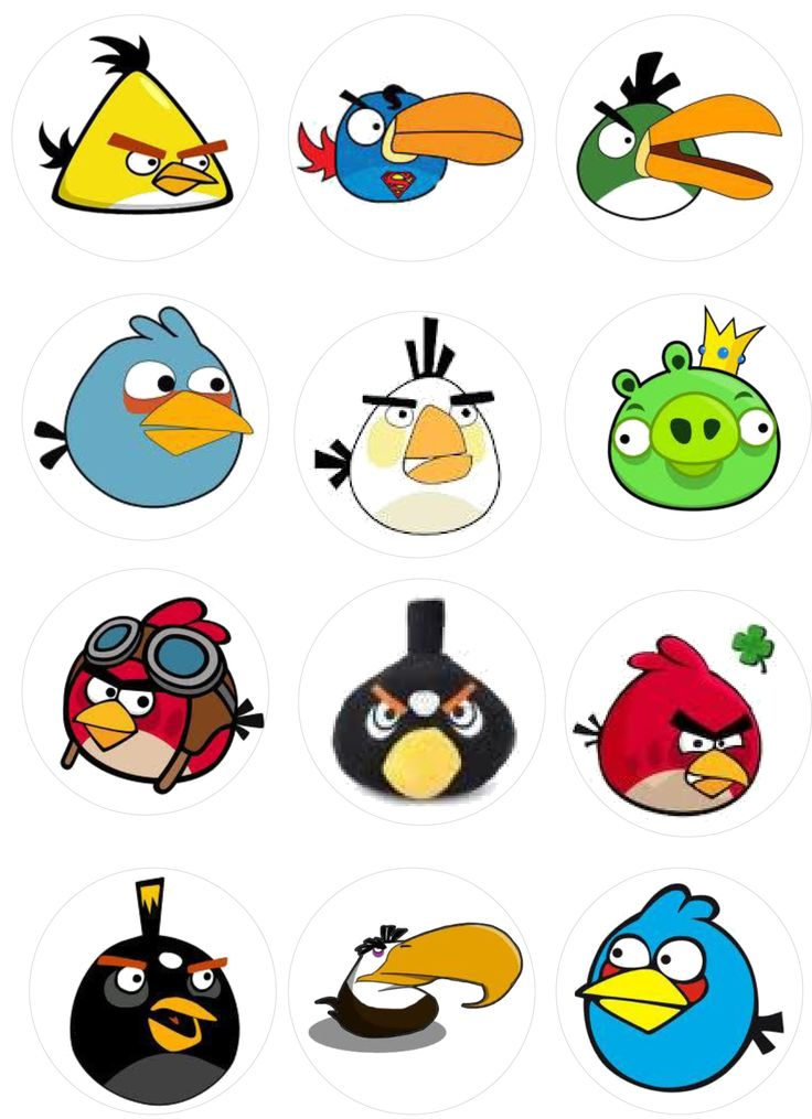 angry birds images to print - photo #6