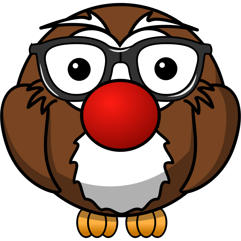 Clipart - Our first adaption of this cute owl.