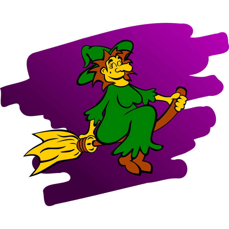 Free to Use & Public Domain Witch Clip Art