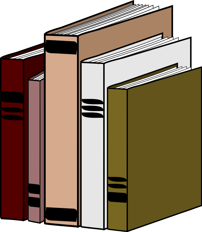 Free to Use & Public Domain Book Clip Art