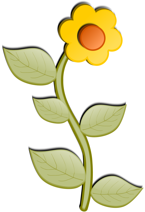Flower ART SVG Vector file, vector clip art svg file