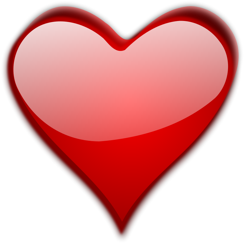 Heart No Background - Cliparts.co