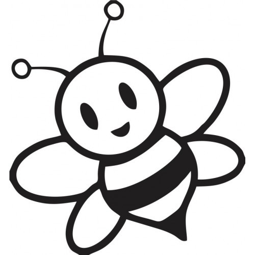 Bumble Bee Outline - Cliparts.co