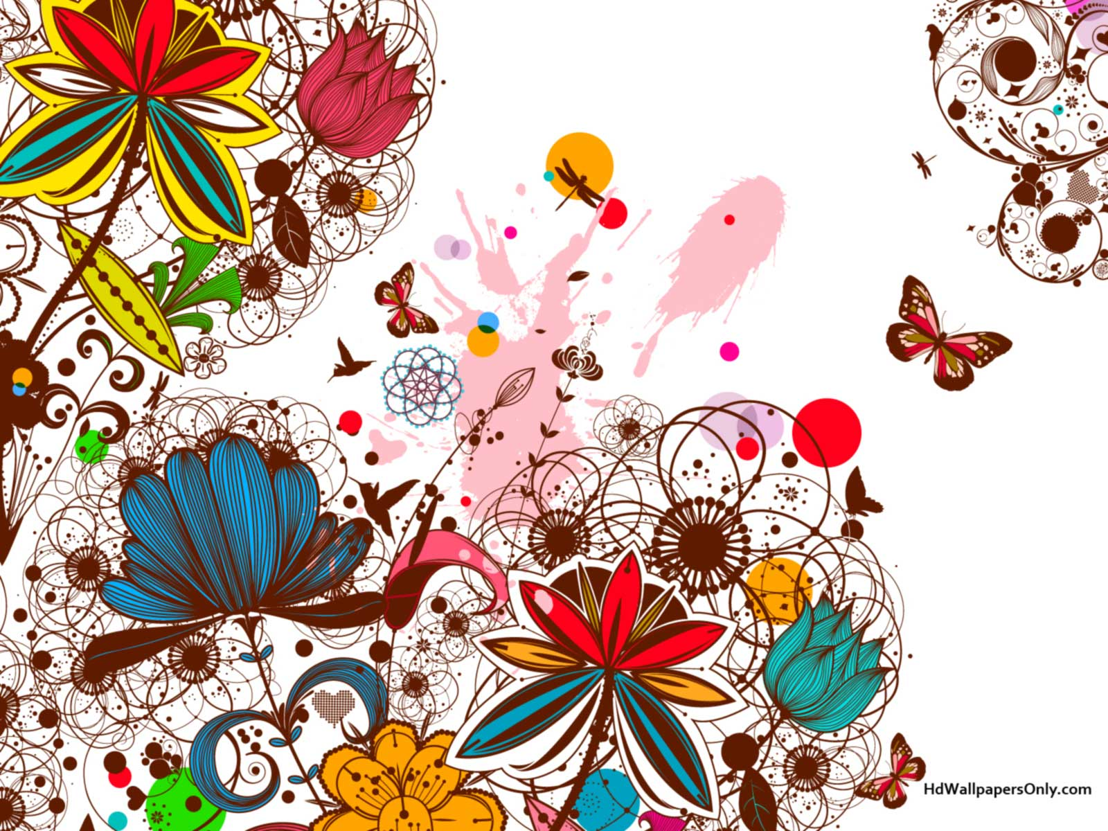 Floral background designs hd qualityhd wallpapers only Designs com