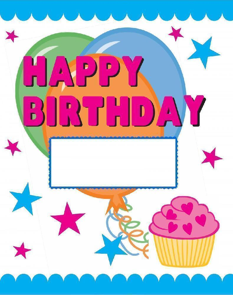 Birthday Poster Cliparts Co