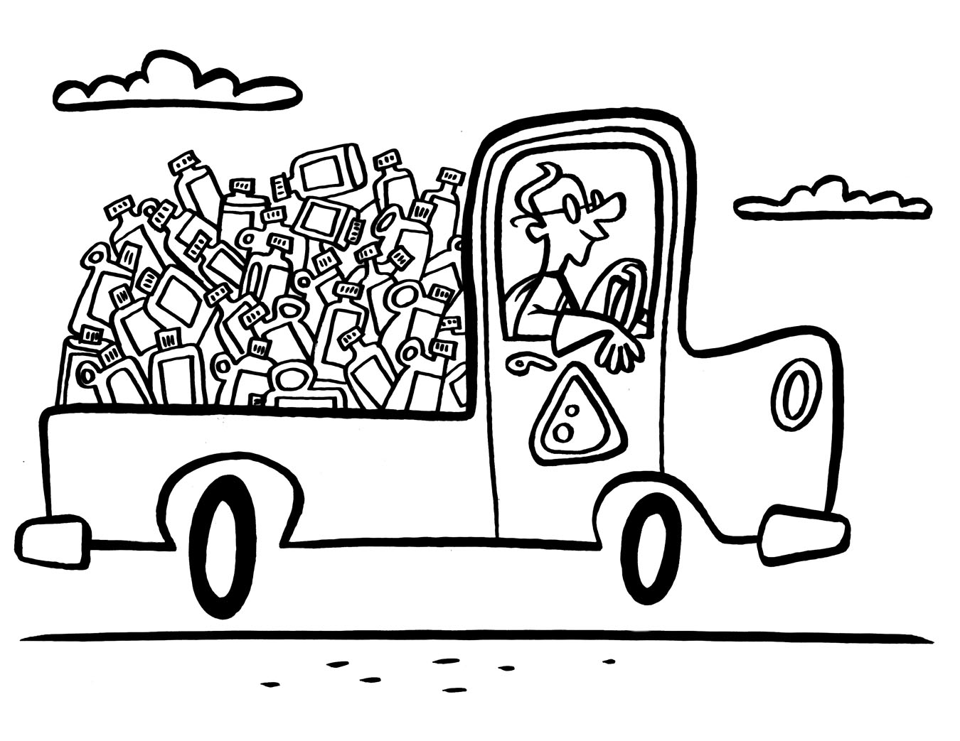 Reduce Reuse Recycle Coloring Pages, Recycle Coloring ...