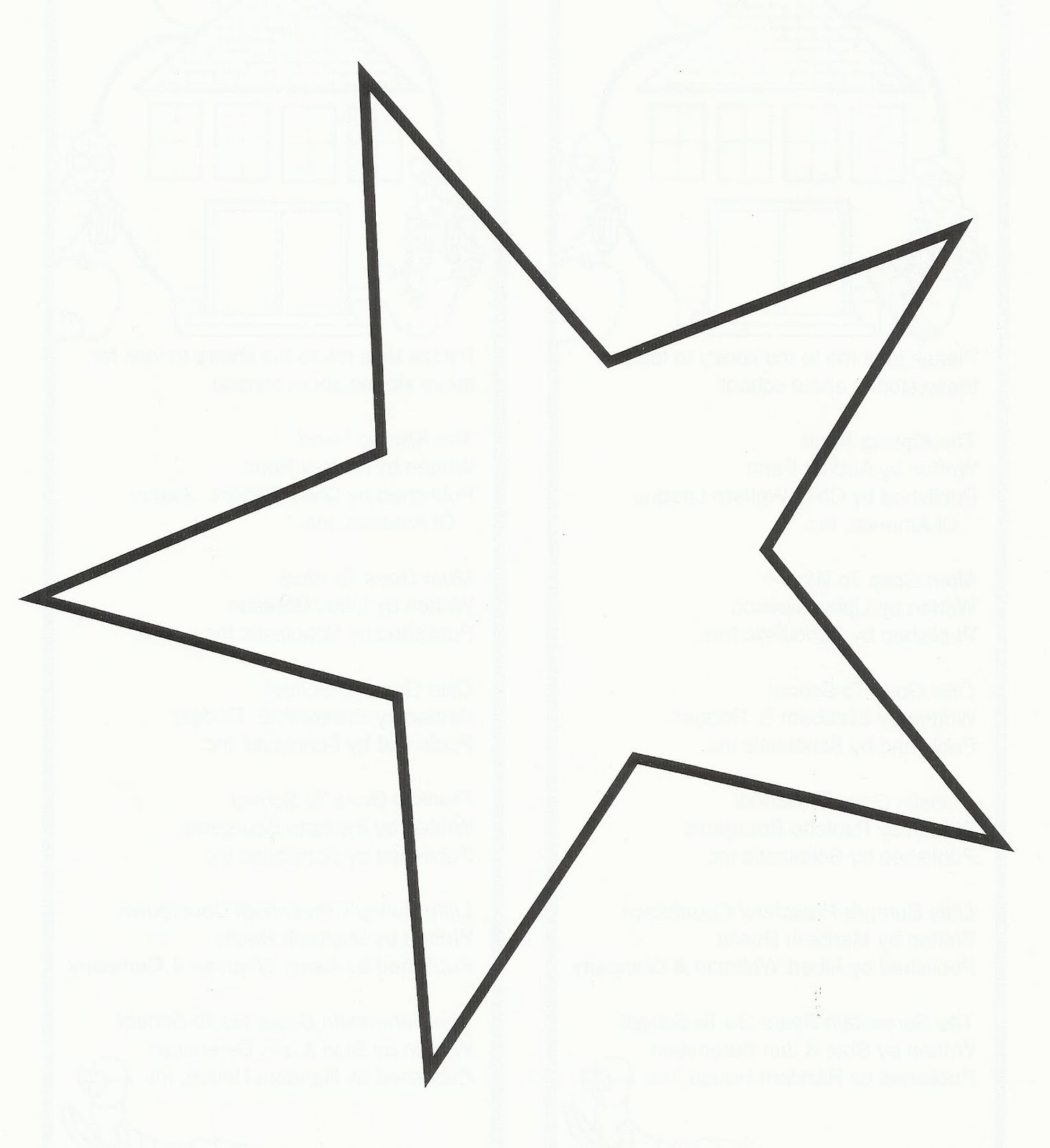 large printable star coloring pages - photo #44