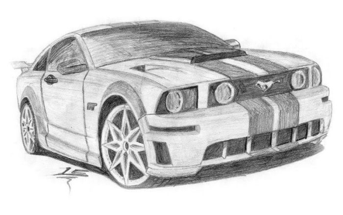 Car Drawings on Pinterest | Abstract Pencil Drawings, Car ...