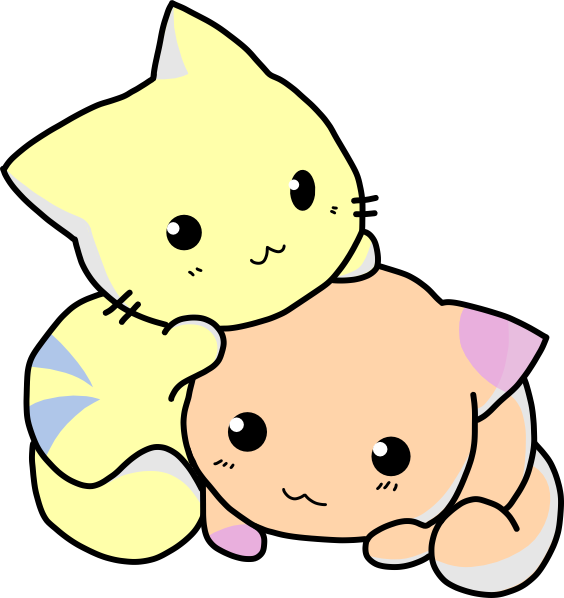 Cute Cartoon Cats Clipart Best Cliparts Co