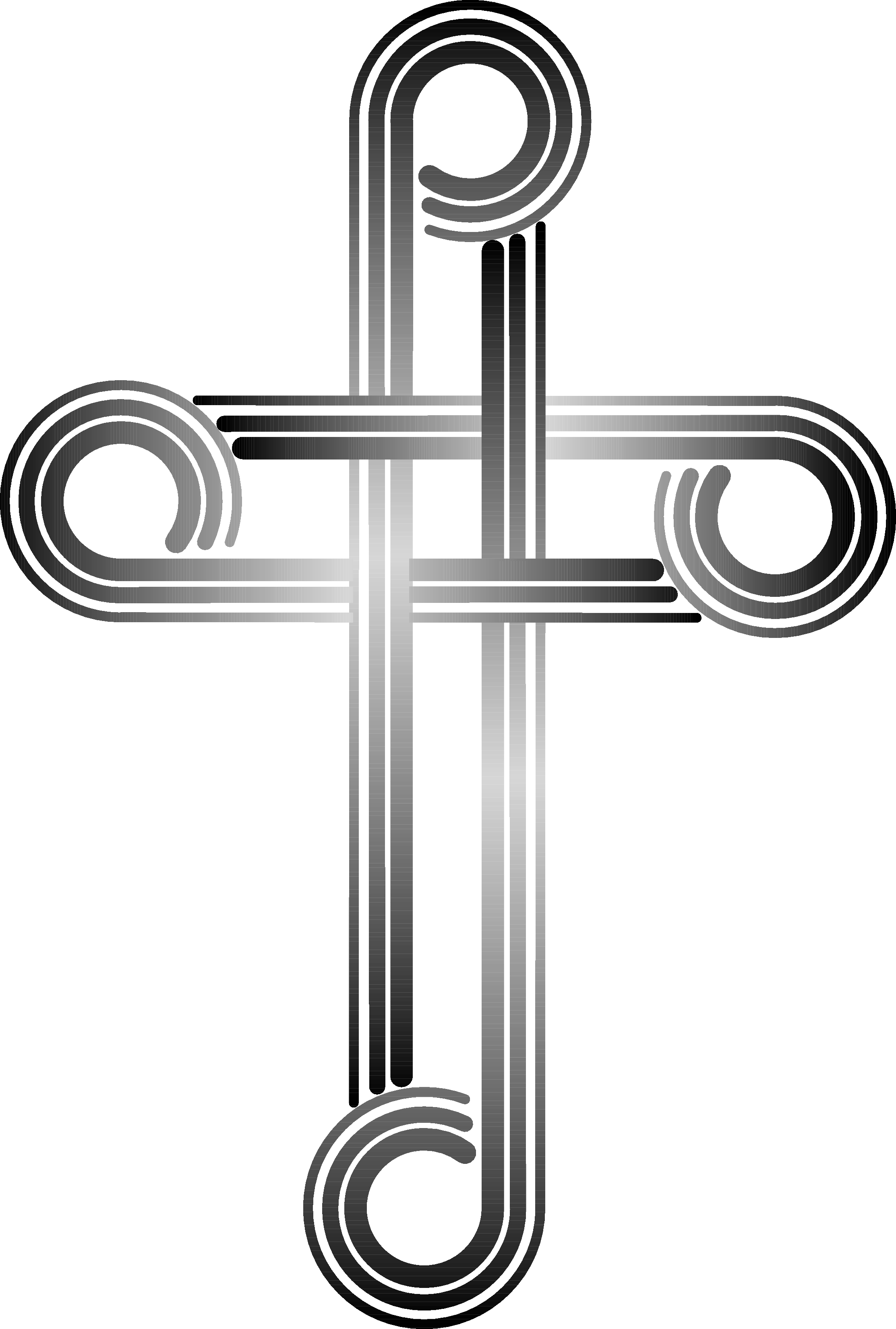 Wooden Cross Clipart Black And White | Clipart Panda - Free ...