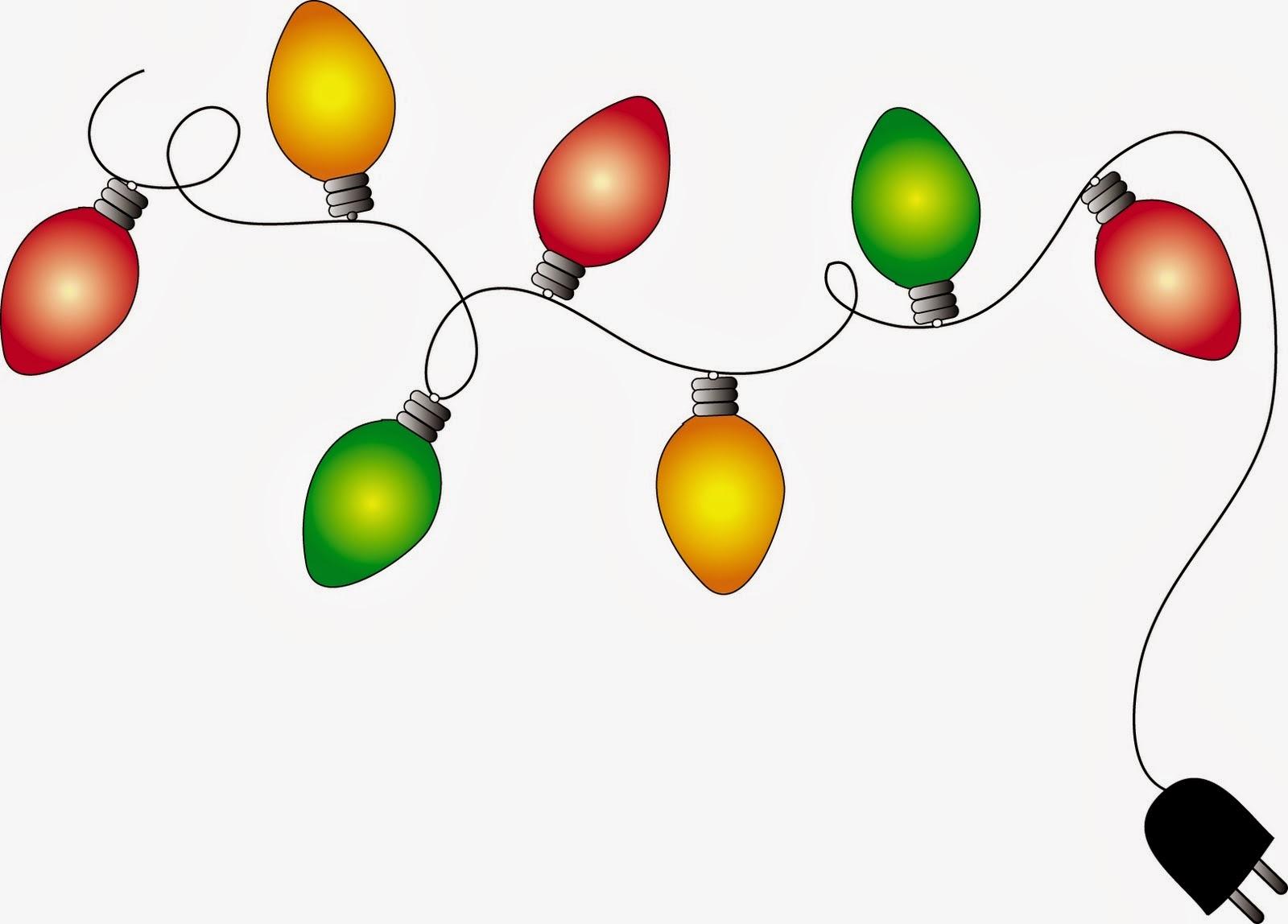 Christmas Lights Borders - Cliparts.co