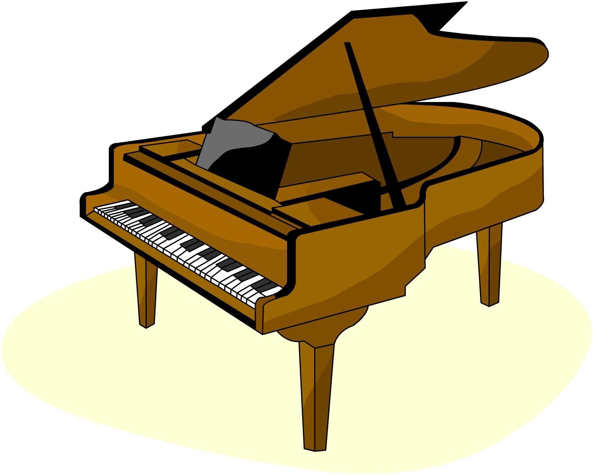 Free Clip Art Piano - Cliparts.co