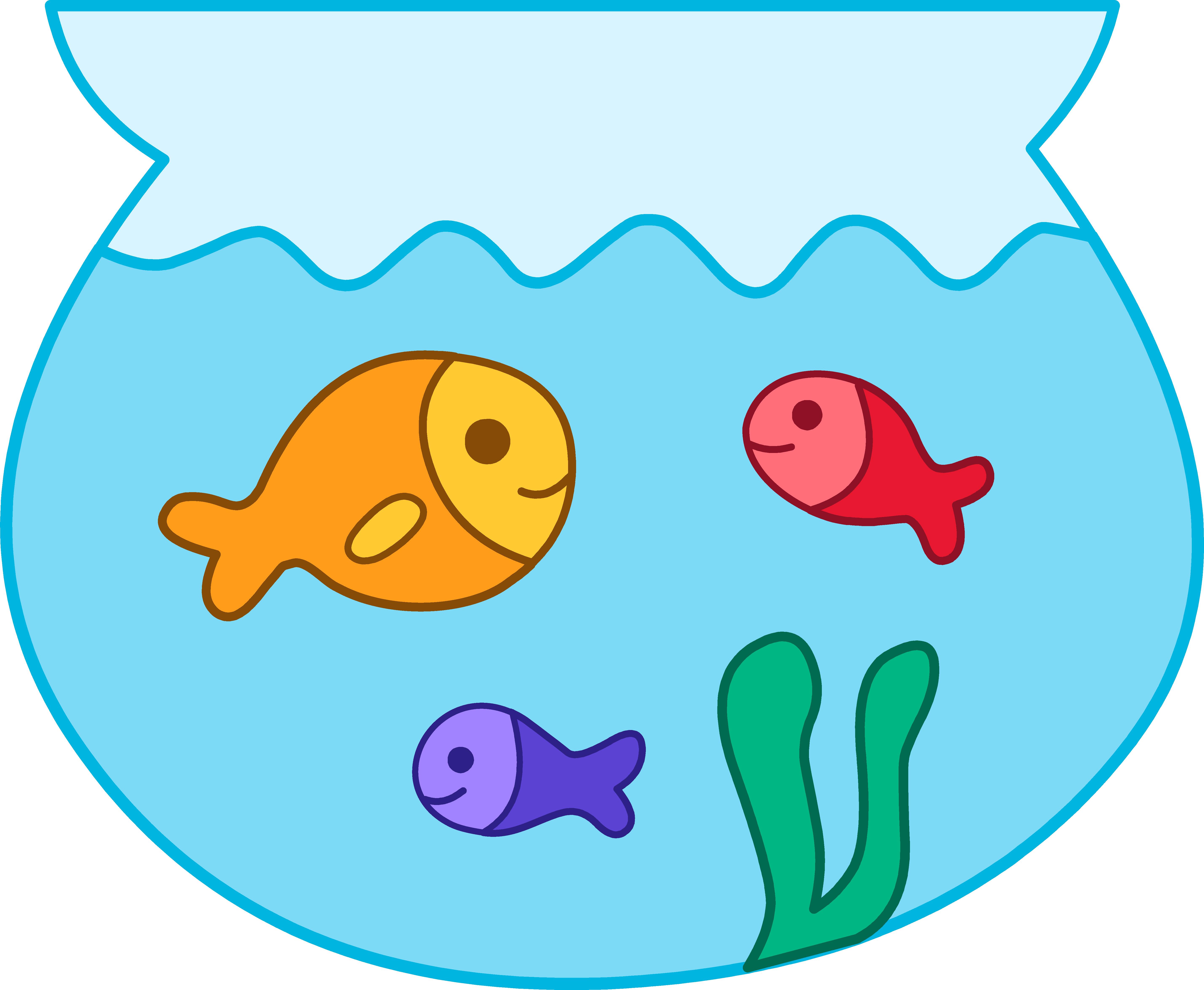 Fish bowl clip art for Fish bowl fish