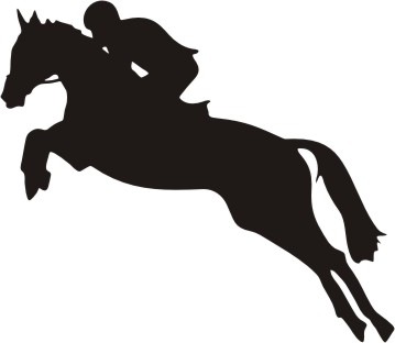 Jumping Horse Silhouette - ClipArt Best