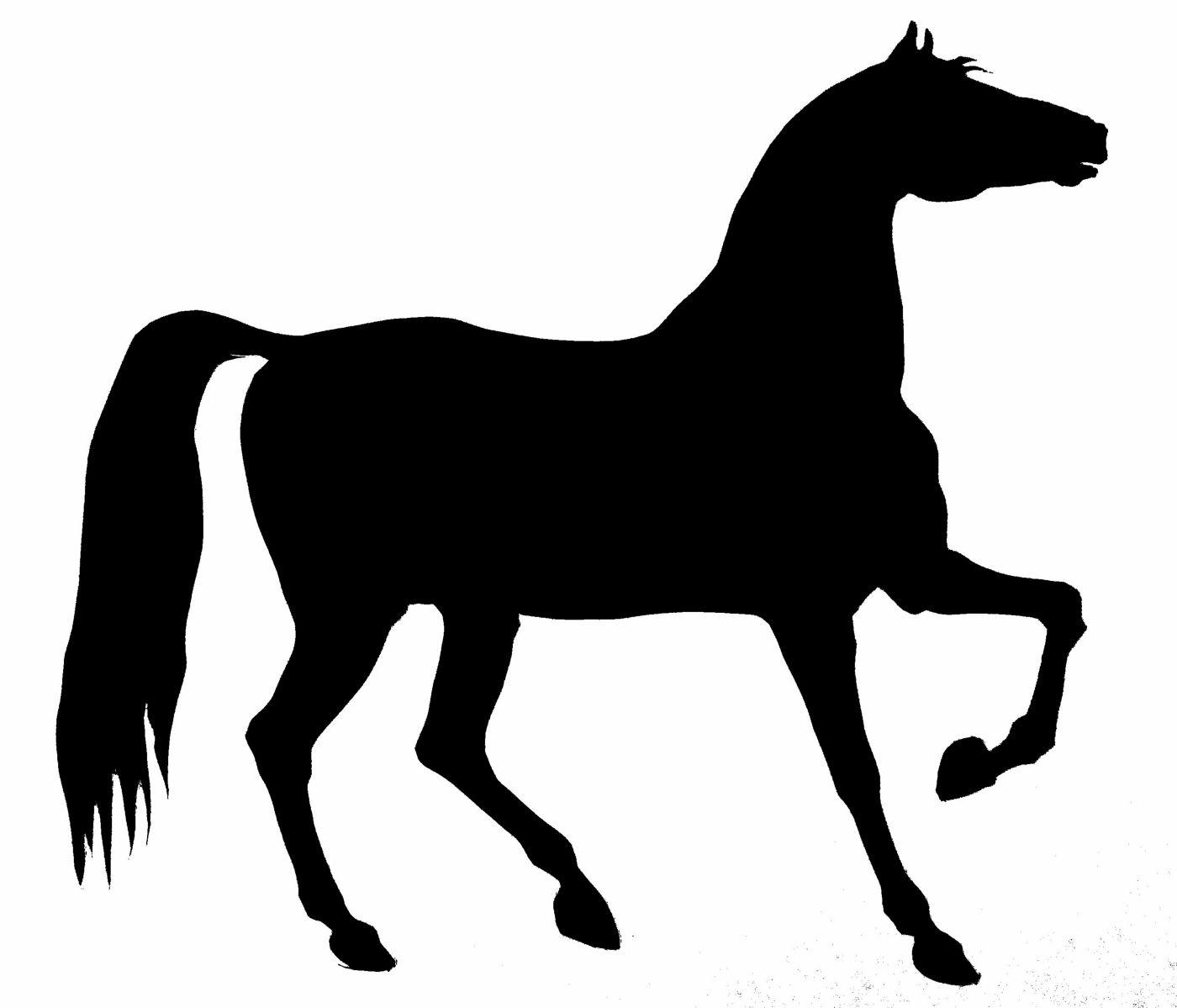 horse clip art free silhouette - photo #19