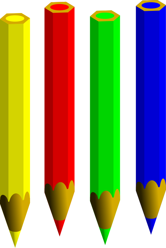 Colored Pencils Clipart - Cliparts.co