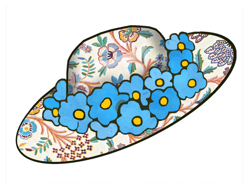 clipart easter bonnets - photo #25