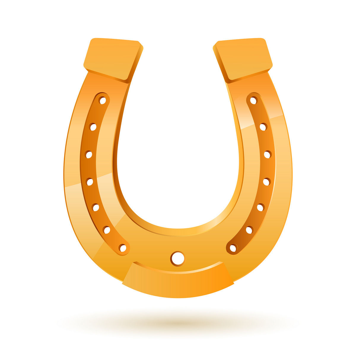 Golden horseshoe, Objects, download Royalty-free vector clip art (