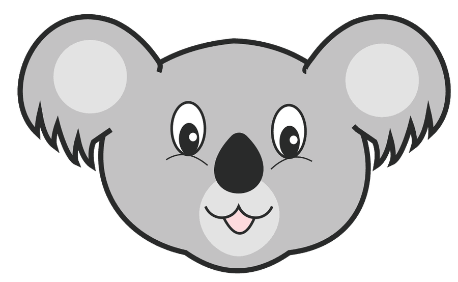 Koala Bear Clipart - bear, cute, fave, head, koala, koala bear ...