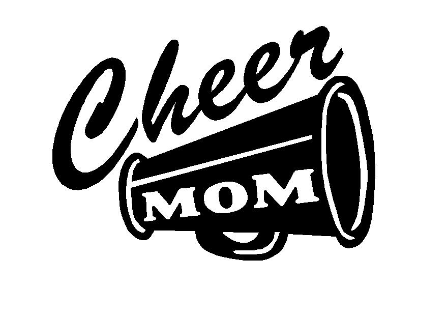 Cheer Megaphone Adhesive Vinyl Decal, sport decals, spirit decals ...