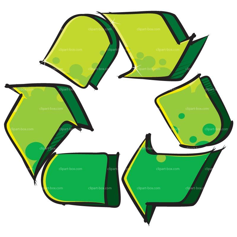 Clipart Recycle Symbol Graffiti Style Royalty Free Vector Design ...