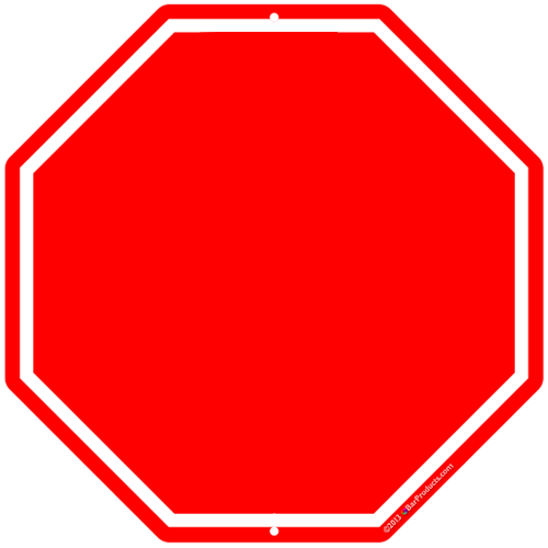 Stop Sign Template Printable - Cliparts.co