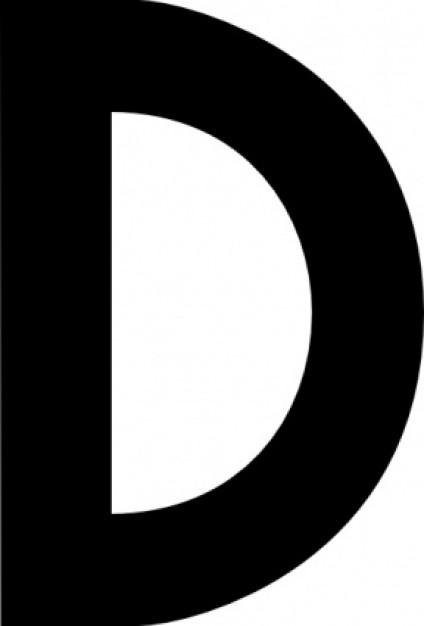 Letter D Clipart - Cliparts.co