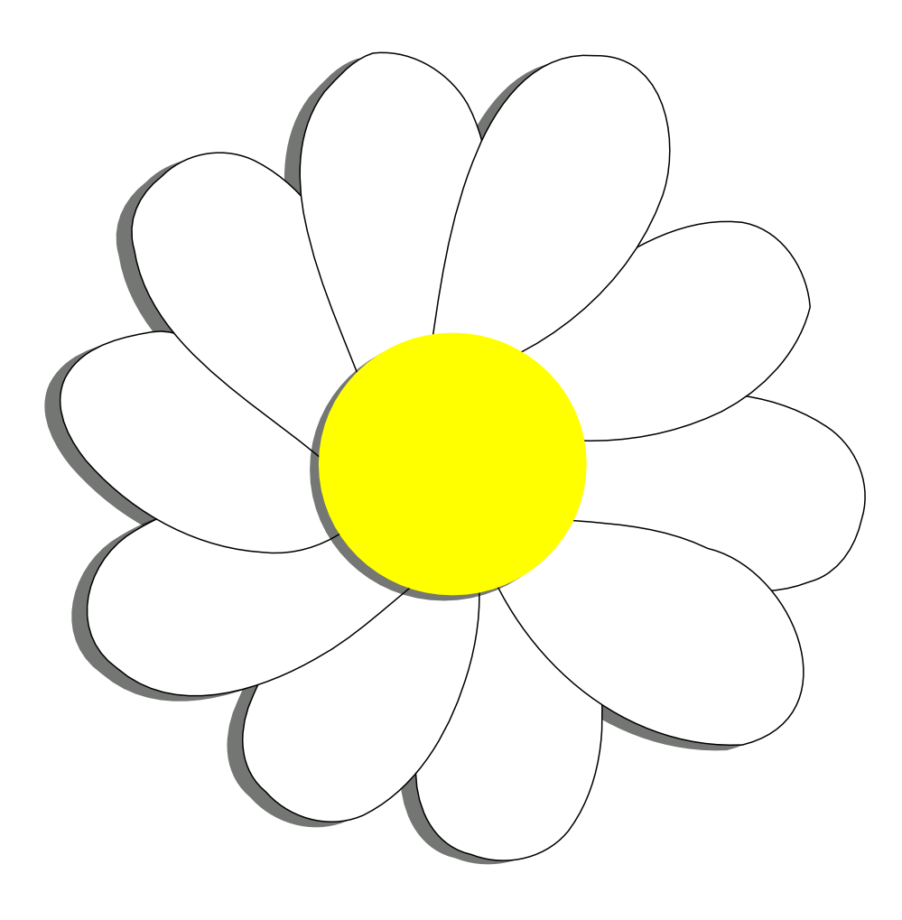 Yellow Daisy Pictures - Cliparts.co