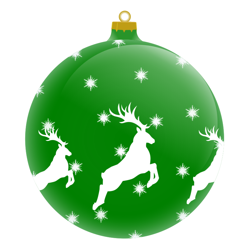 Clip art christmas decorations for Decoration clips