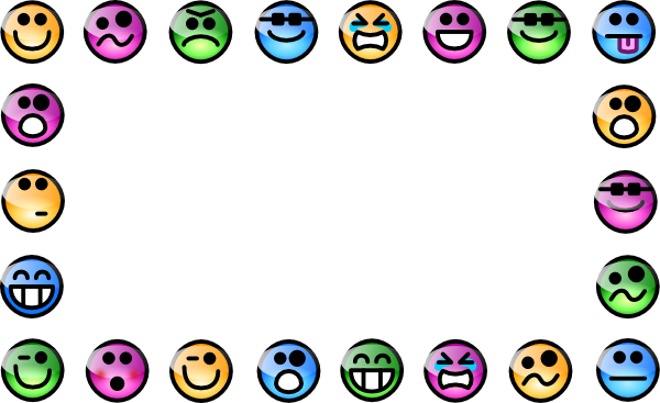 Smiley Border clip art - vector clip art online, royalty free ...