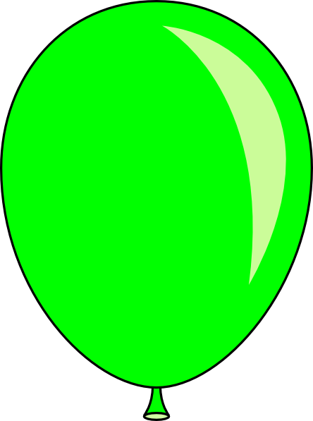 green balloon 6 clipart rh worldartsme com green clip art green clip art
