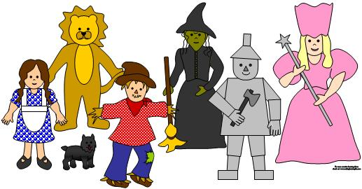 Wizard of Oz Storytime Ideas | Clipart Panda - Free Clipart Images