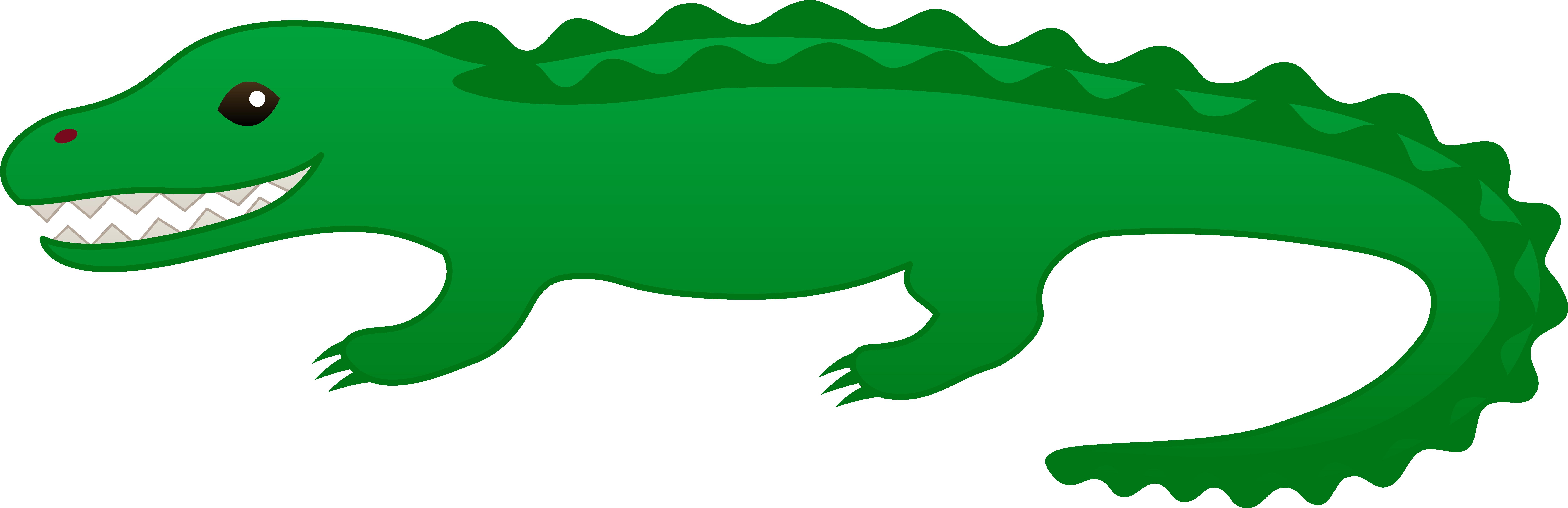 free animated alligator clipart - photo #10