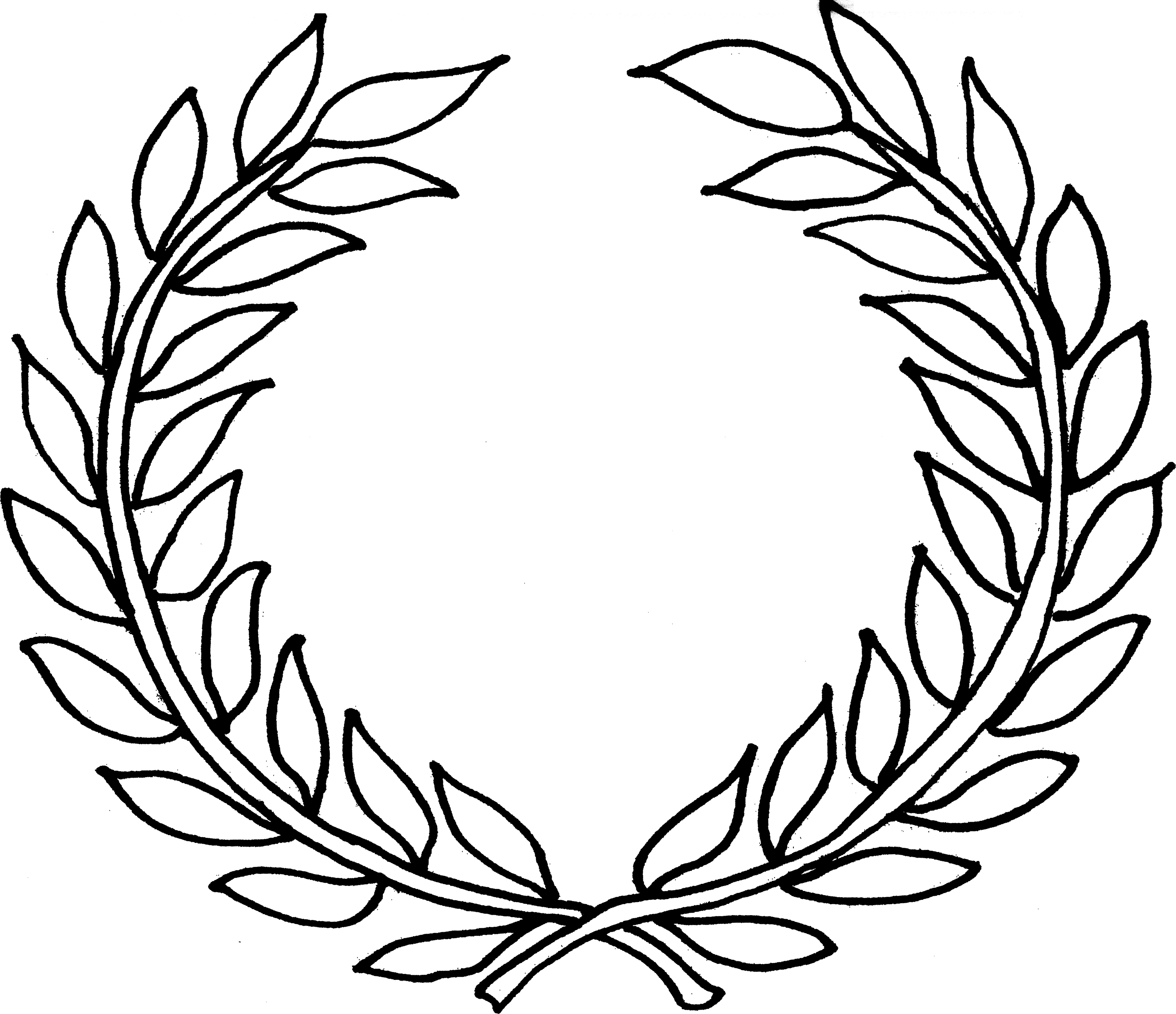 Tattoo borders designs cliparts co - Laurel Wreath Clipart Cliparts Co
