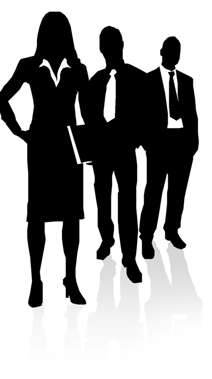 Gallery For > Business People Silhouette Png - Cliparts.co