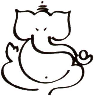 Pix For > Simple Ganesha Sketches - Cliparts.co